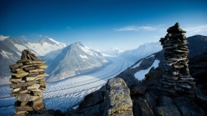 Aletsch, la route du grand glacier